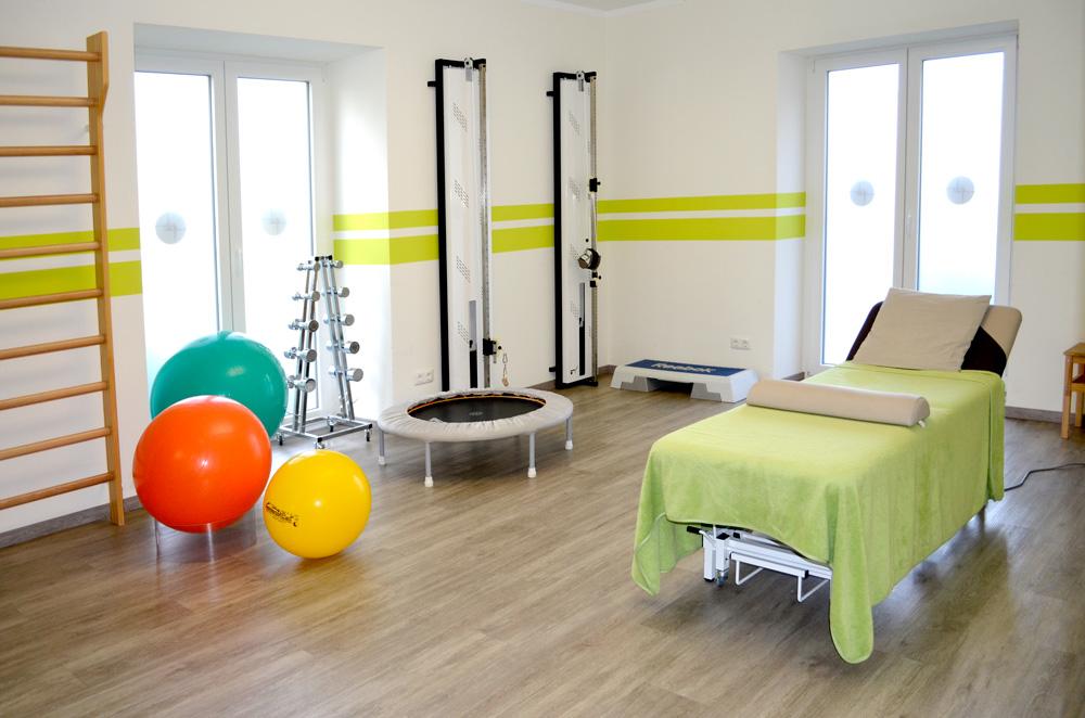 Physiotherapie Bergkirchen Behadlungsraum
